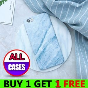 Accessories - *NEW iPhone X/XS/7/8/Plus Blue Marble Case